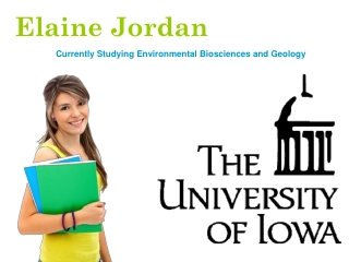 Elaine Jordan - An Accomplished Student