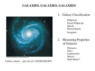 galaxies, galaxies, galaxies