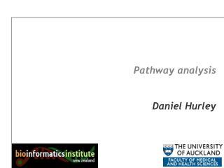 Pathway analysis   Daniel Hurley