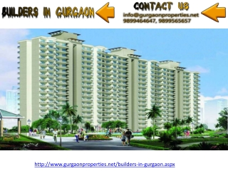 Builders in Gurgaon