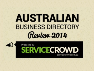 Australian Business Directories SEO Infographic