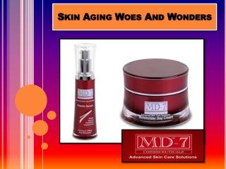 Skin Aging Woes And Wonders