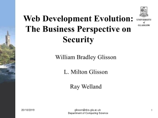analysing the business environment and its effect on wes