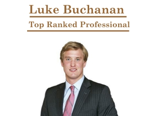 Luke Buchanan- Top Ranked Professional