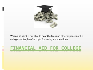 Financial Aid For Graduate School
