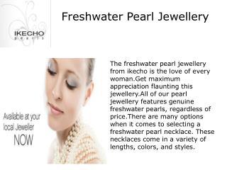 Freshwater pearl jewellery in Autralia
