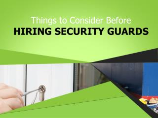 Vacant Property Security Solutions