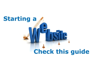 Starting a website then check this guide