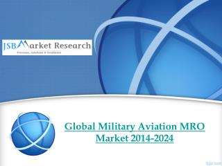 The Global Military Aviation MRO Market 2014-2024