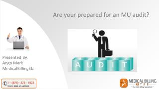 Is your medical practice ready for Meaningful Use audits?