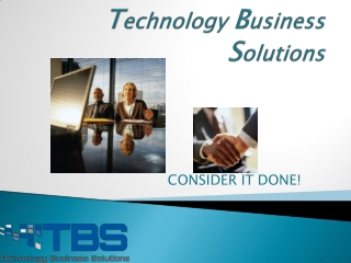 TBS Provides IT Outsourcing Support