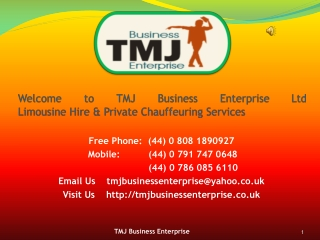 Chauffeur Services London