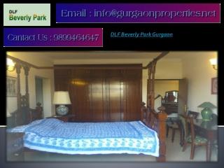 DLF Beverly Park Gurgaon