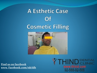 Cosmetic Filling
