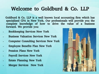 Financial Planning Services New York