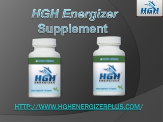 HGH Supplement