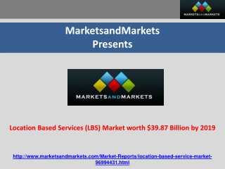 Location Based Services Market