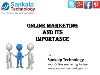 Seo Company India-Sankalp Technology