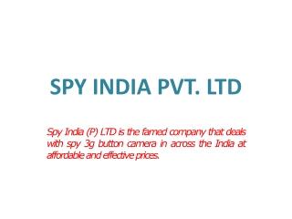 spy 3g button camera