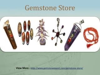 Gemstone Online store