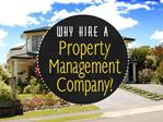 Property Management Services – Your Property in Safe Hands