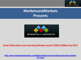 Smart Education Market