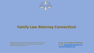 Family Law Attorney Connecticut