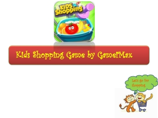Kids Shopping Game