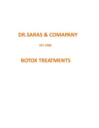 Botox Treatment Clinic In Sydney