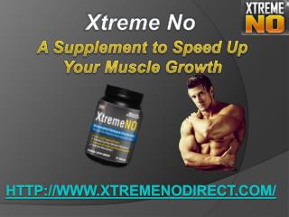 Xtreme No Body Building Supplement