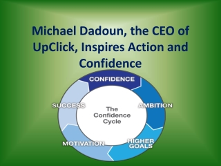 Michael Dadoun, Inspires Action and Confidence