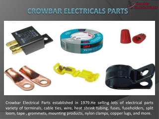 Best Quality Product Selling-Crowbar Electrical Parts