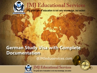 German Study Visa with Complete Documentation