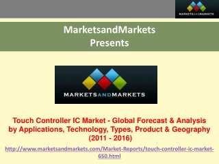 Touch Controller IC Market - Global Forecast