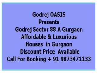 Godrej Upcoming project sector 88A ,Gurgaon @   91 987347113