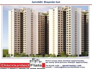 Samriddhi Bhayandar East Mumbai by AG Superstructures