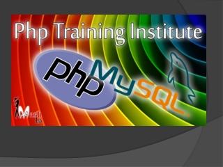 PHP training in Chandigarh