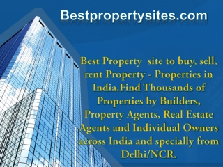 Best Property Sites Noida