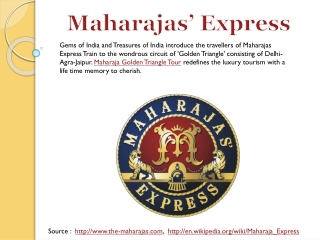 Maharajas Golden Triangle Tour