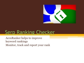 Serp Ranking Checker