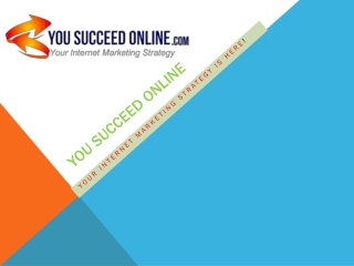 How you can Succeed Online