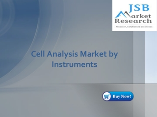 Cell Analysis Market by Instruments - JSB Market Research