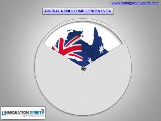 Australia Skilled Indendent Visa