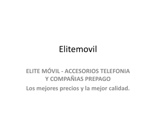 Mayorita distribuidor de telefonos moviles