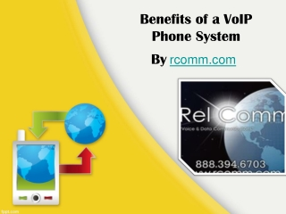 Benefits of a VoIP Phone System