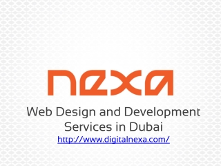 Nexa - Website Design and Development Services in Dubai