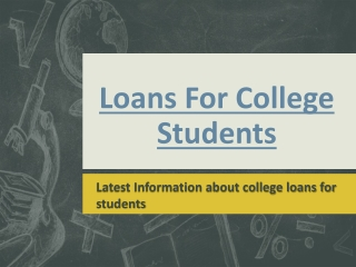 Low Interest Student Loans