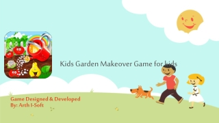 Kids Garden Makeover Game for kids