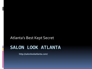 Salon Look Atlanta