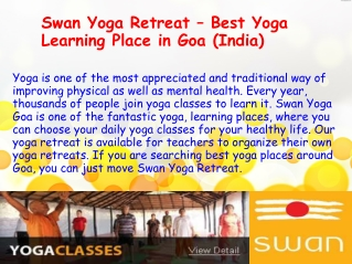 What Are The Benefits Of Learning Yoga in Goa?